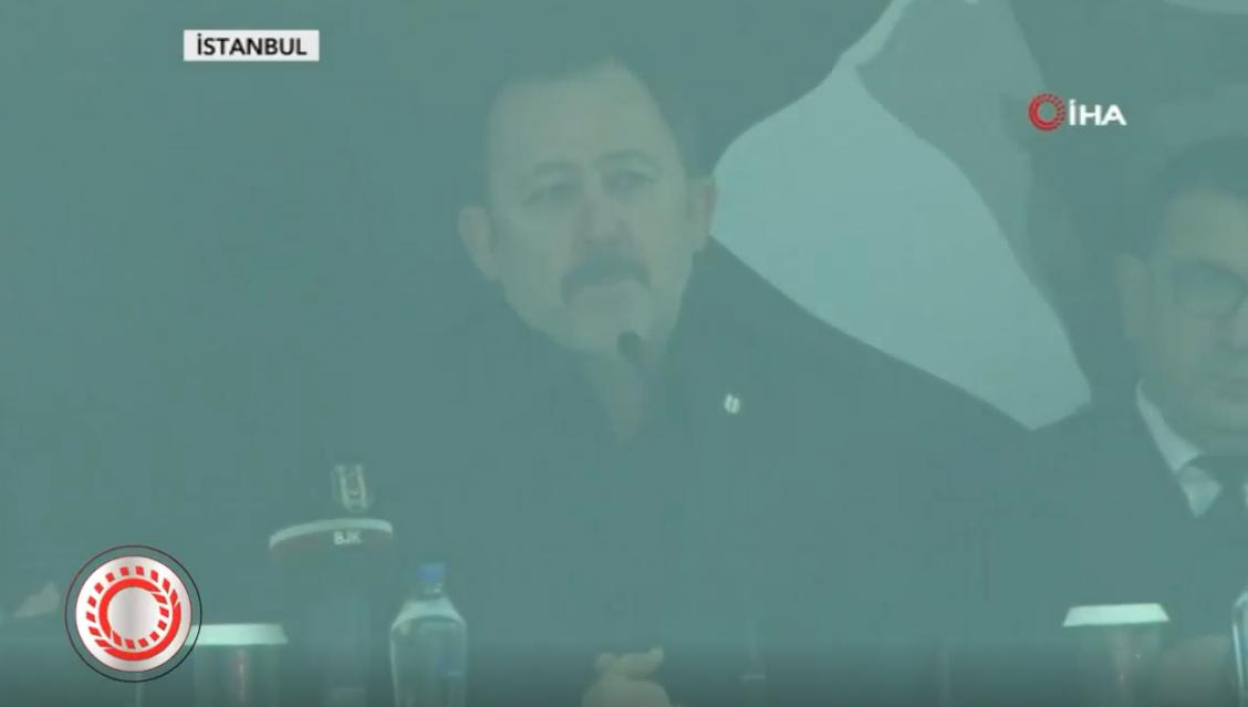 Sergen Yalçın, 20 Bin Beşiktaş taraftarının önünde imza attı