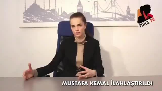 Sürekli din değiştiren Kazazdan Atatürk'e skandal sözler Dinsizliği getirdi