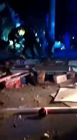 Elazığ'dan enkaz ve kurtarma görüntüleri gelmeye başladı