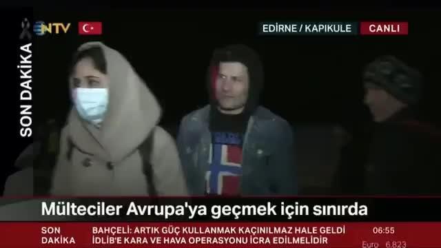 İşte NTV'nin yayından kaldırdığı mülteci videosu: 'Otobüsler bizi bedava getirdi'