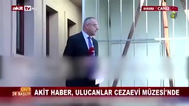 Akit TV sunucusu dar ağacı önünde 'Kılıçdaroğlu idam edilsin' çağrısında bulundu
