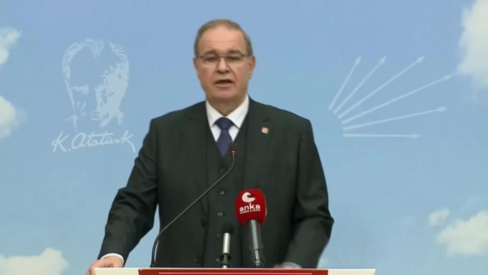 CHP Adalet Bakanına Anayasayı hatırlattı