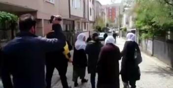 Polisin tepki toplayan görüntüsü
