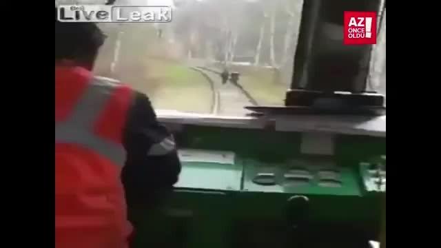 Makinistten tren yolunda Akıl Almaz Olay!