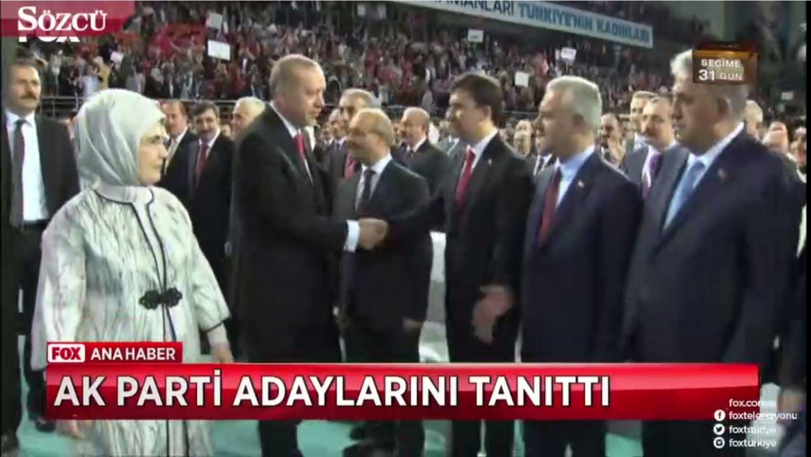 AKP toplantısında ilginç olay! Erdoğan Şok oldu!