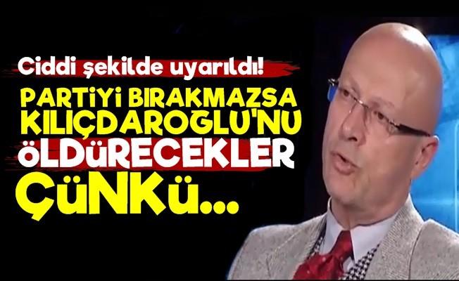 Korkunç İddea! 'Gitmezse Kılıçdaroğlu'nu Öldürecekler'