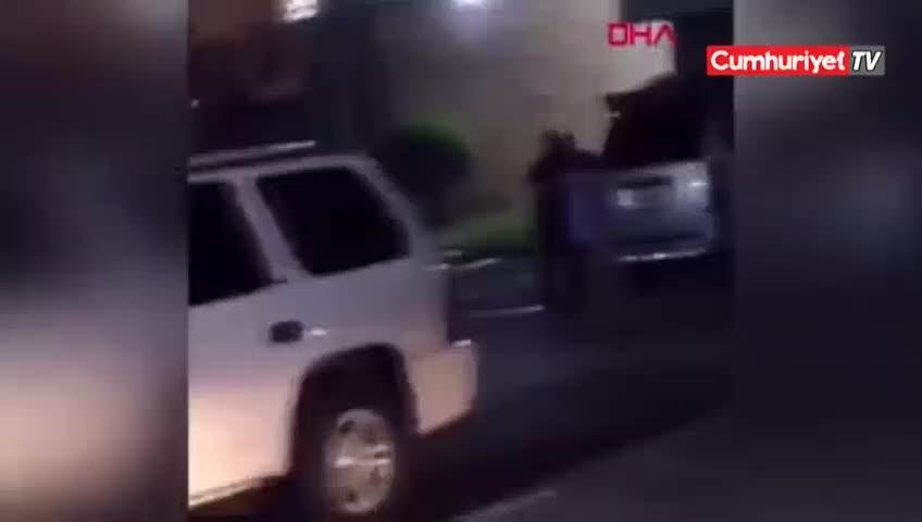 Gözaltına alamadığı hamile kadına kurşun yağdırdı