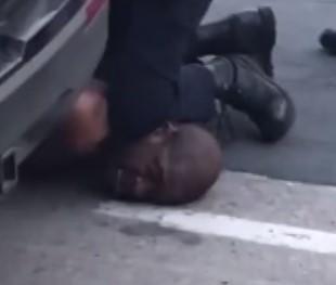 +18 ABD'de dehşet anları… Polis şüpheliyi boğarak öldürdü