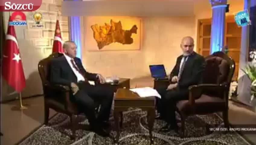 Erdoğan şoku yaşadı kendisini eleştirenlere teessüf etti