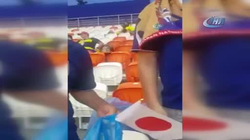 Japonya hem maçı hem gönülleri kazandı