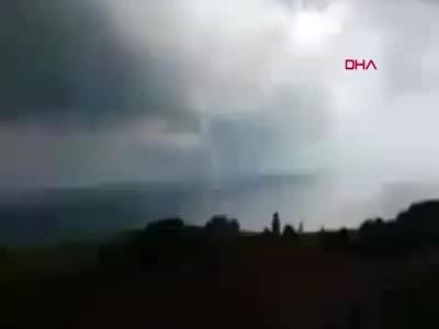 Şile'de hortum