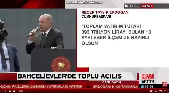 Erdoğan'dan Cumhur İttifakı gafı