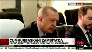 Cumhurbaşkanı Erdoğan'ın canlı yayında konuşması sırasında Berat Albayrak'ın görüntüsü şoke etti