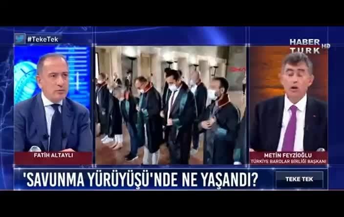 Feyzioğlu: Baro başkanlarının yanına sorunu çözüp gittim