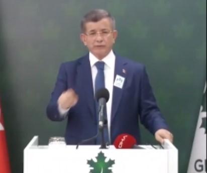 Davutoğlu, bu kez doğrudan Erdoğan'ı hedef aldı..