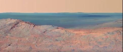 İlk kez bu kadar net görüntüleri paylaşıldı: Mars'ta hayata en yakın deneyim!