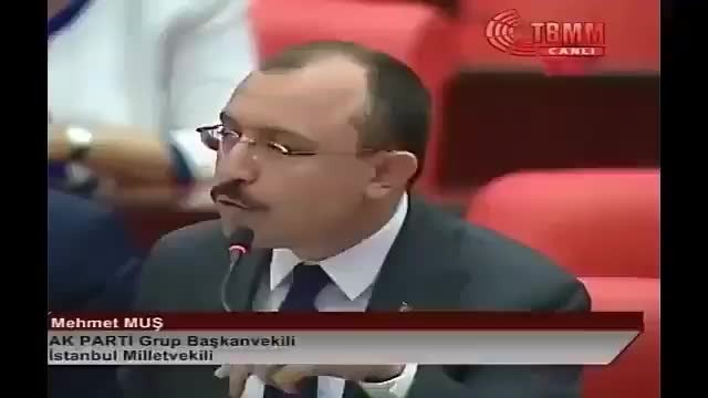 """AKP Grup Başkan vekili Mehmet Kuş, FETÖ'ye """"Sayın Fethullah Gülen"""" dedi."""