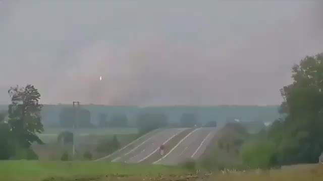 Havai fişek fabrikasındaki patlama anı
