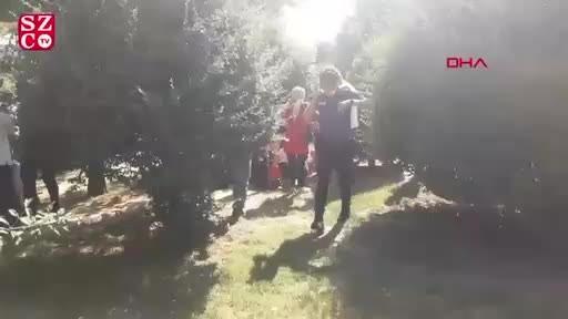 Parkta dehşet! Eski eşini vurup intihar etti