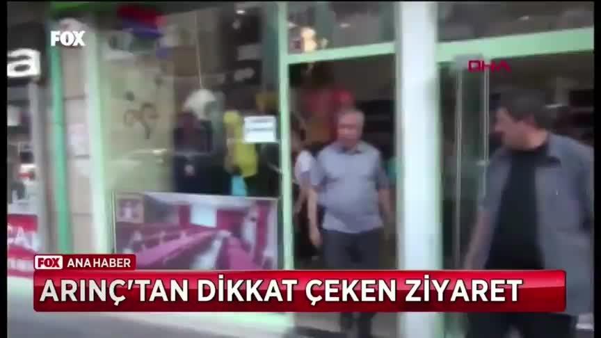 Bülent Arınç'ın FETÖ firarisi Mehmet İşler'in pastanesine ziyareti tepki aldı