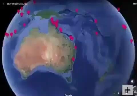 Google Earth sayesinde sadece sokaklarda değil deniz altında da gezebileceğiz