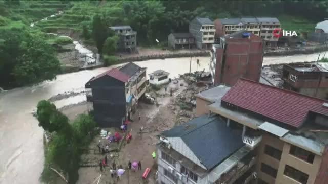 Lekima tayfunu Çin'i vurmaya devam ediyor: