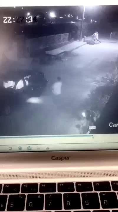Momo Beach'te güvenlikler tarafından darp edildiği iddia edilmişti! Model Daria Kyryliuk'u sevgilisinin dövdüğü kamera görüntüleri ortaya çıktı