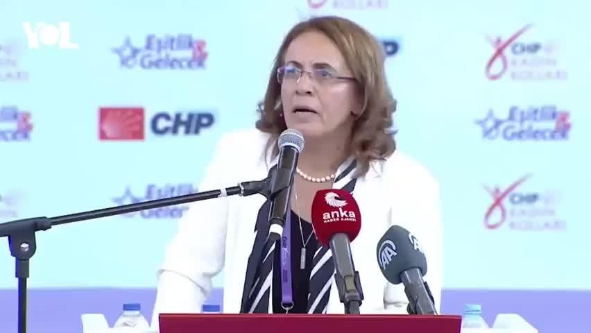 CHP Kadın Kolları Kurultayı'nda Canan Kaftancıoğlu tartışması