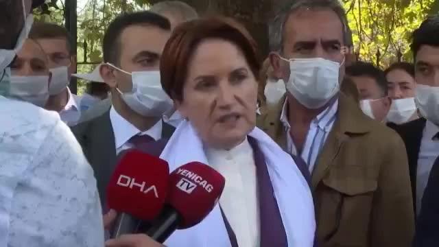 Meral Akşener'den Erdoğan'a: 'Hiçbir insanı yolda bırakmadık'