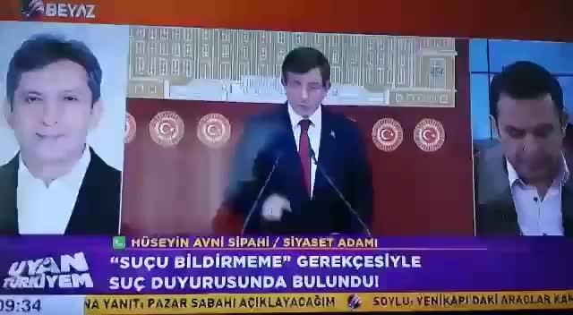 TBMM'ye 'Ahmet Davutoğlu'nun dokunulmazlığını kaldırın' çağrısı