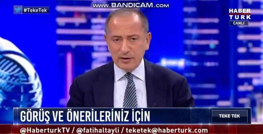 Fatih Altaylı'dan Habertürk canlı yayınında Halk TV'nin kapatılmasına tepki: Türkiye'ye yakışmıyor!