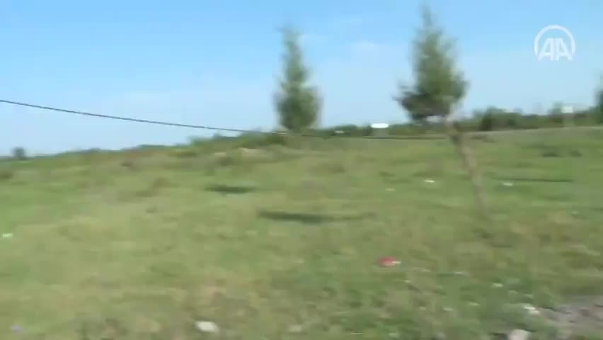 Ermenistan toplarının saldırısından AA ve TRT ekipleri son anda kurtuldu