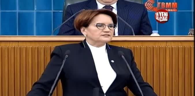 İYİ Parti lideri Akşener konuştu herkes ayakta alkışladı! İşte o konuşma!