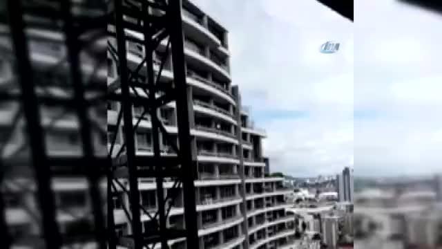 Selfie çekineyim derken 27. kattan düştü! O anlar saniye saniye görüntülendi