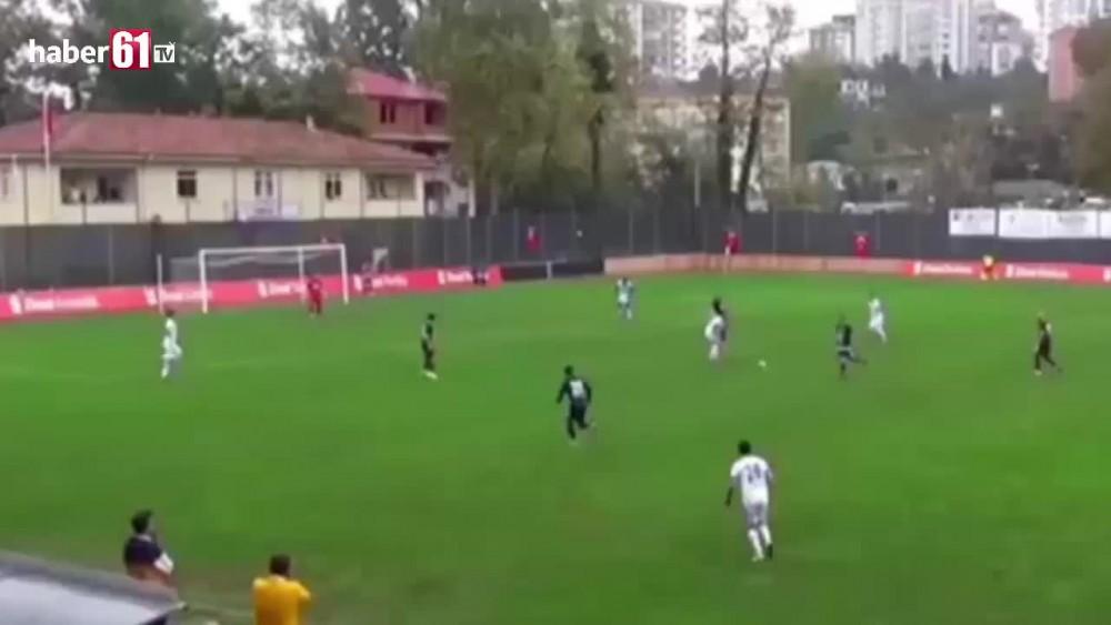 Trabzonspor'un genç yıldızından müthiş gol!