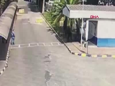 Sendika Başkanının vurulduğu kavga kamerada