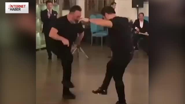 Cem Yılmaz'ın Azeri dansı sosyal medyayı salladı