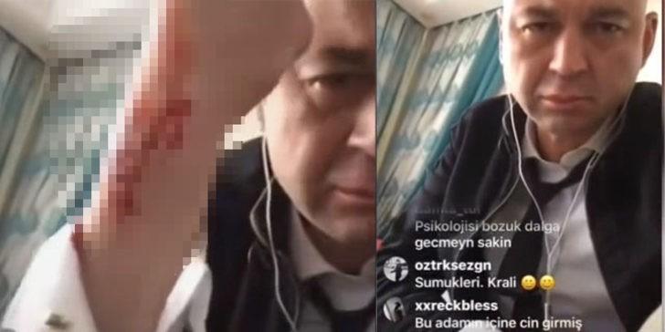 (+18) MasterChef Murat canlı yayında intihara teşebbüs etti!