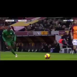 Galatasaray'ın 2. golü Eren Derdiyok!